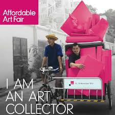 Amber Singleton Art Featured at Affordable Art Fair Hong Kong