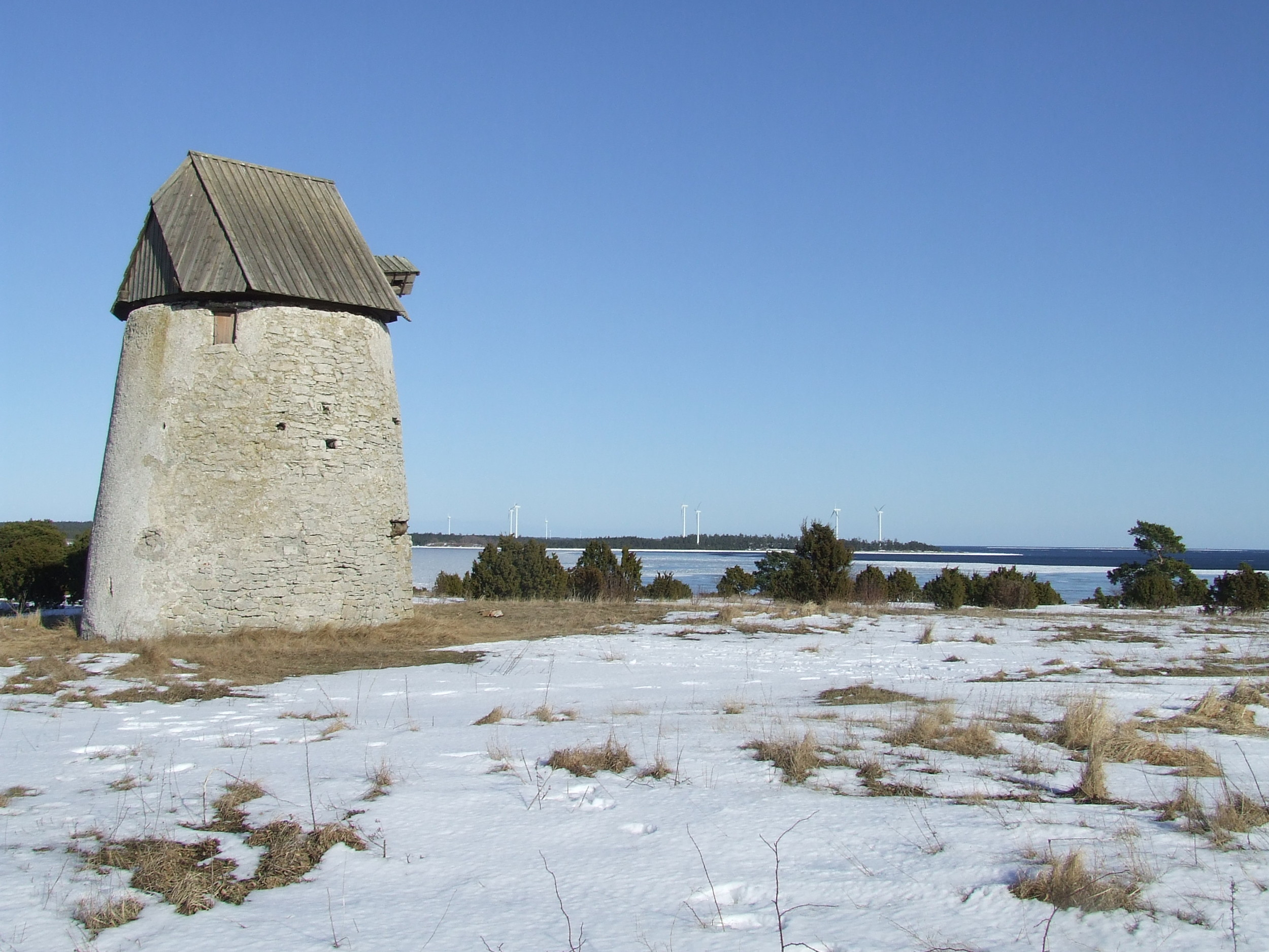 Väderkvarn vid S:t olofsholm