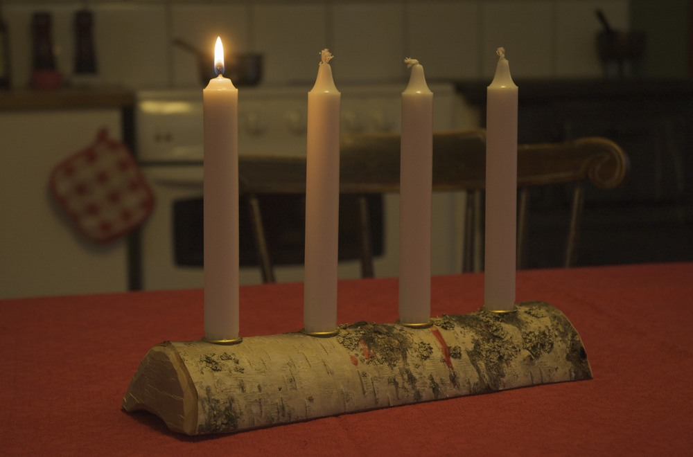 advent i köket