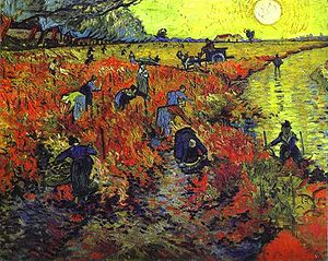 Red Vineyards, Vincent Van Gogh