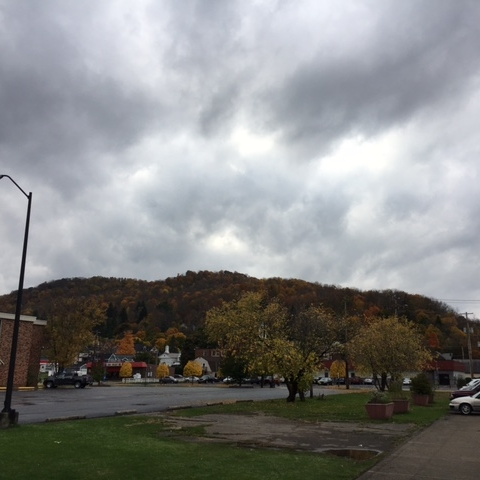 Foliage, Clouds, Nature!