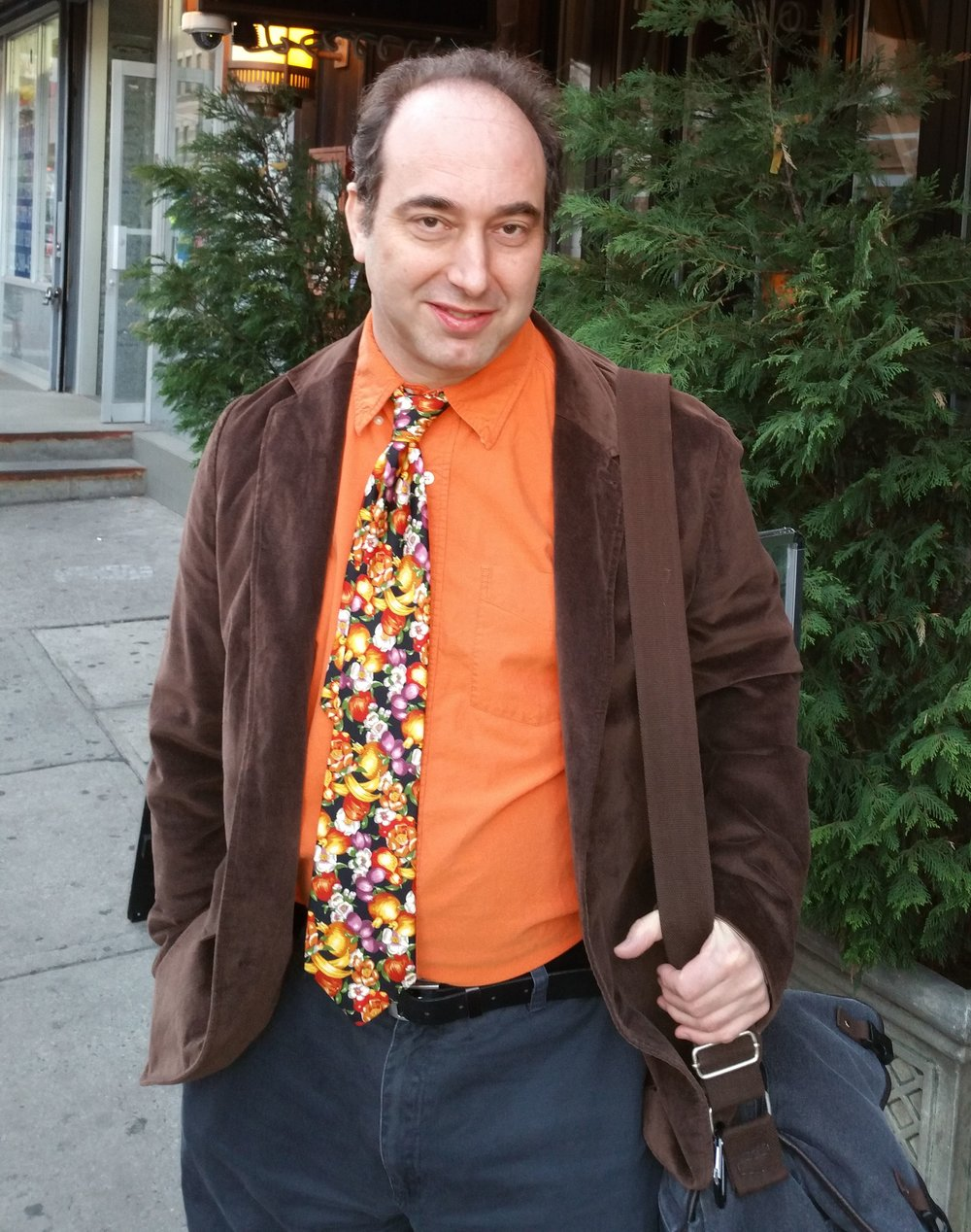 Native New Yorker - and Broadway's Next Hit Musical die hard - Ross Mernyk