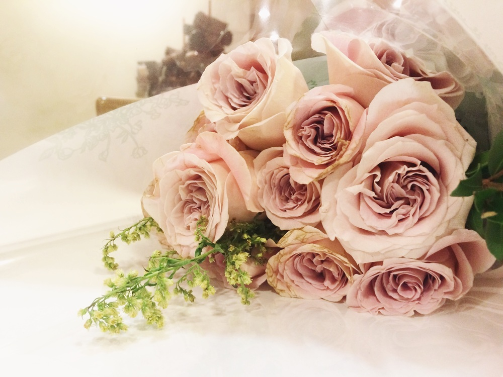 Life is handing you beautiful roses
