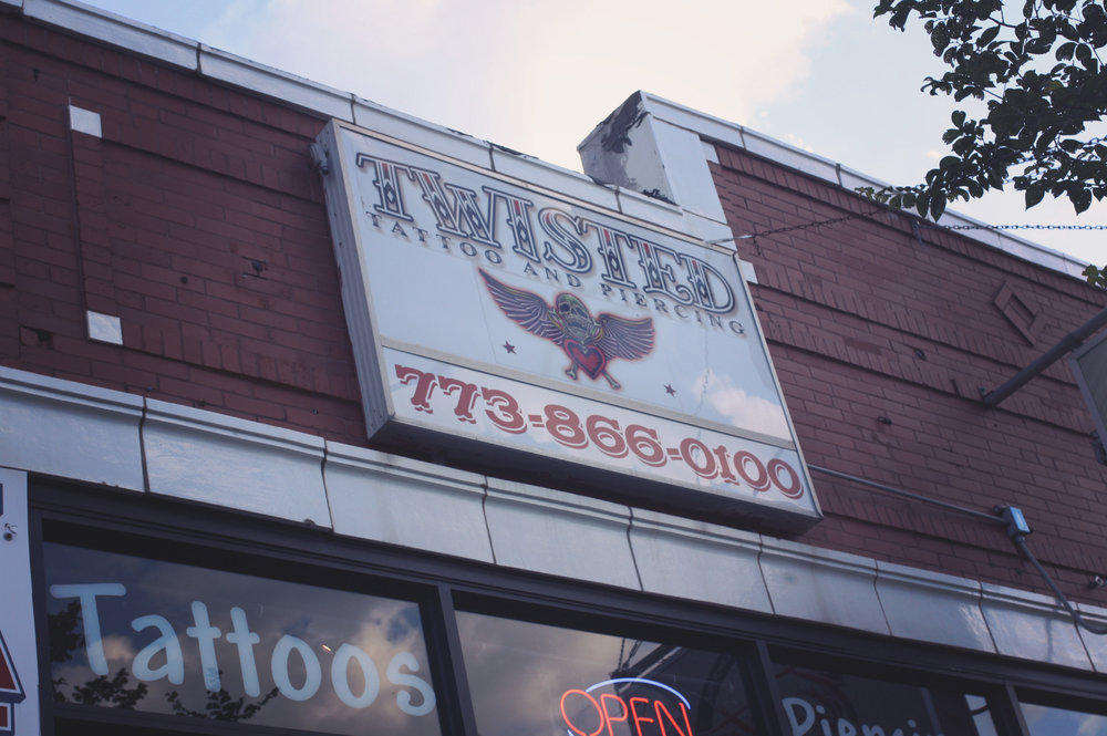 Contact us twisted tattoo body piercing for Twisted tattoo chicago