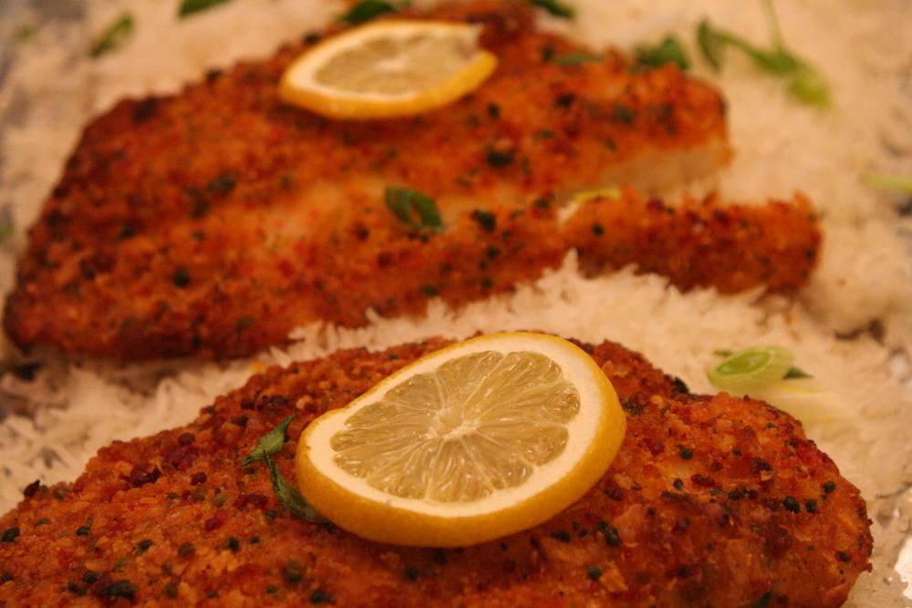 Herb Lemon Tilapia/Rice