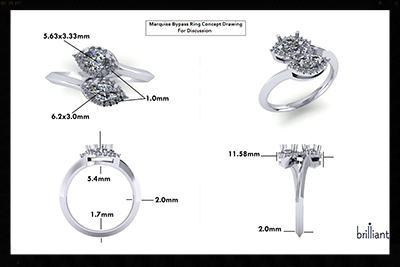 Our Design Process brilliant Custom Design Studio Jewelry