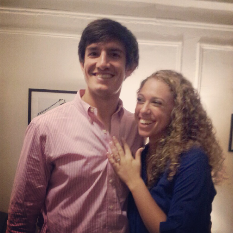 Michelle said yes!