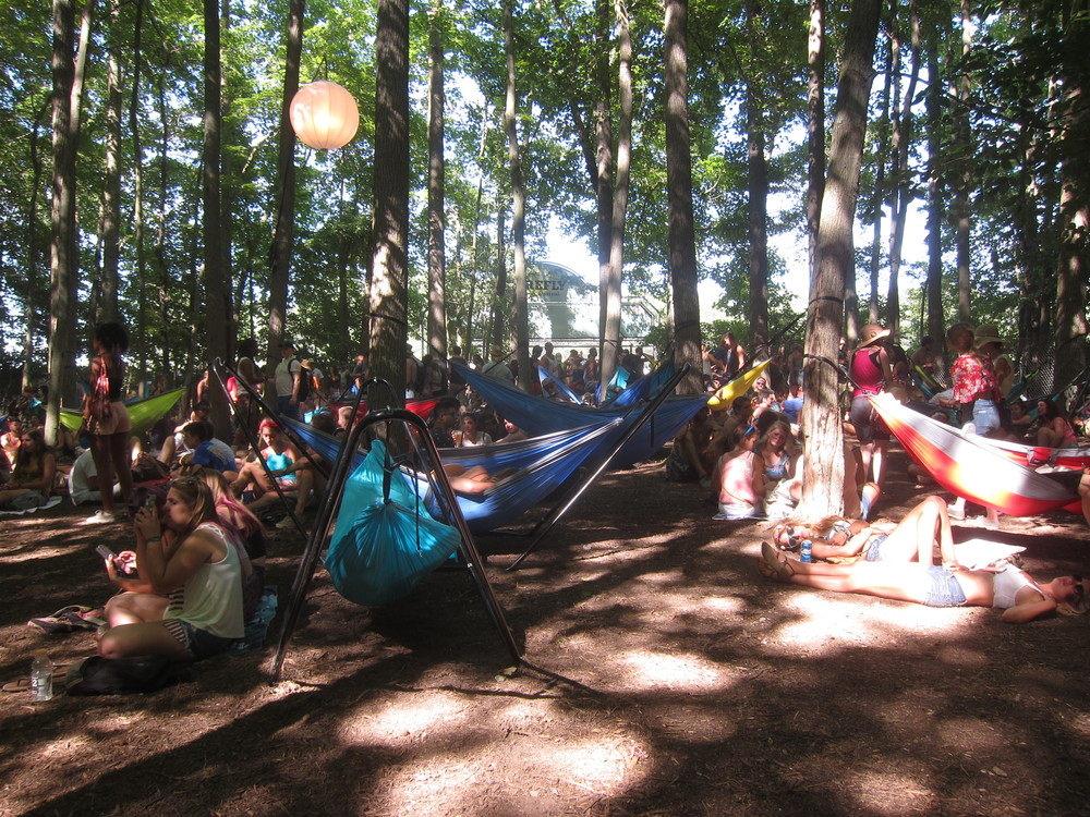 Hammock Forest was a frequently traveled location for us.  A great way to relax, catch some shade between shows, and just be with the trees.