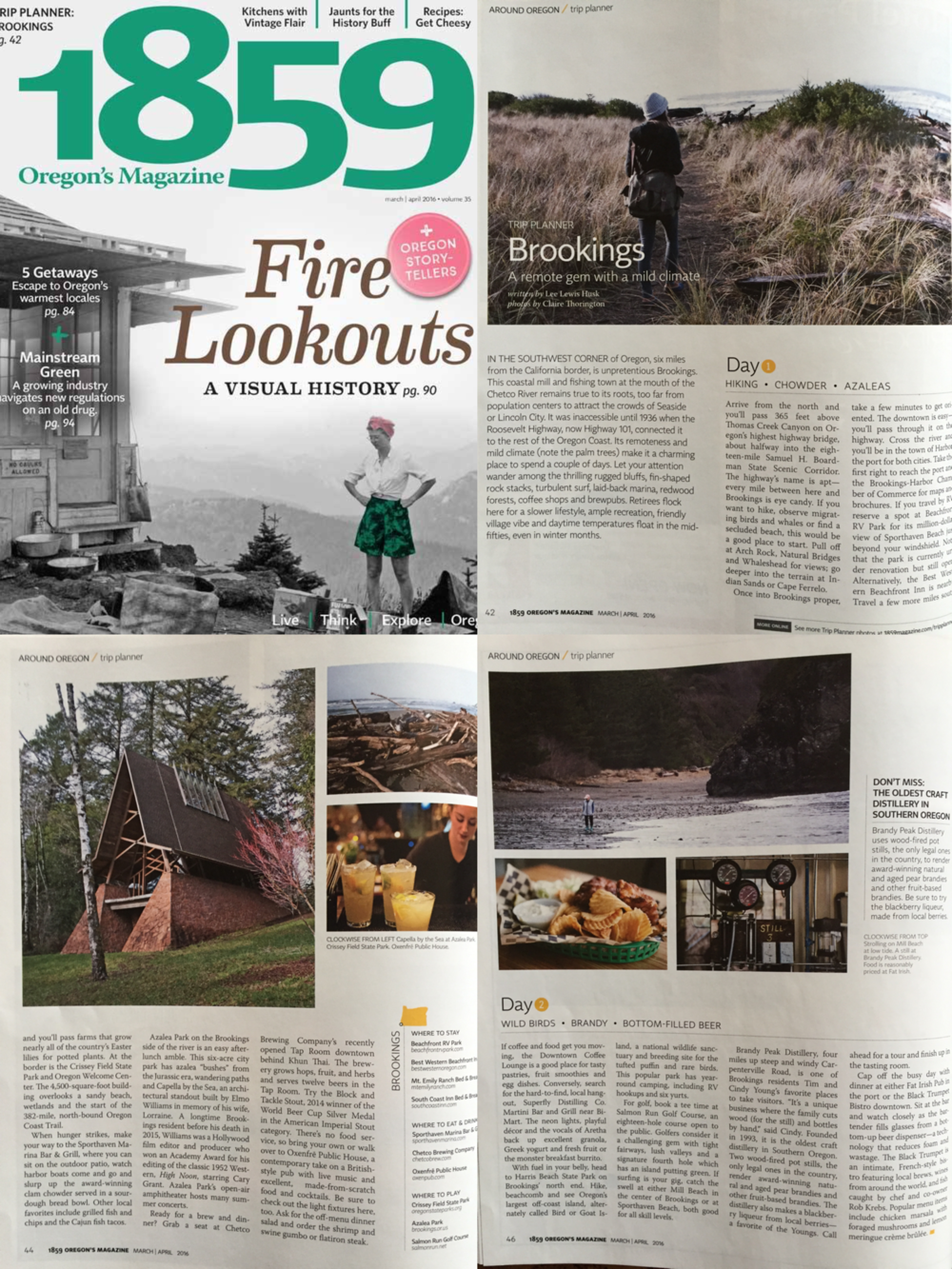 1859 Oregon's Magazine - March/April 2016