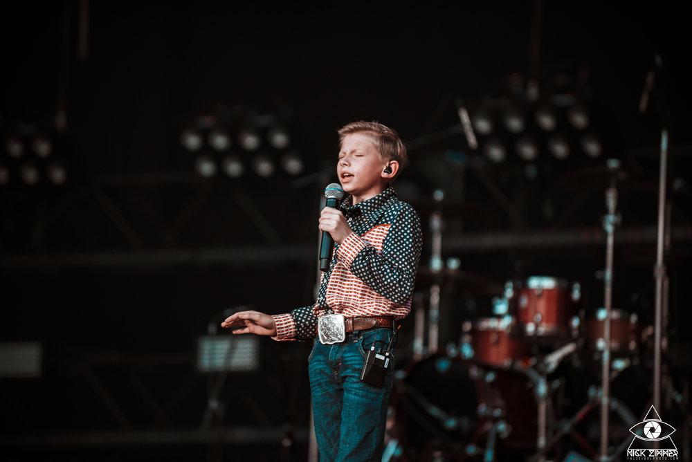 Mason Ramsay   CMA Fest   Nashville, TN