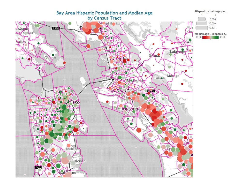 Demographic Data Mapping Tools on