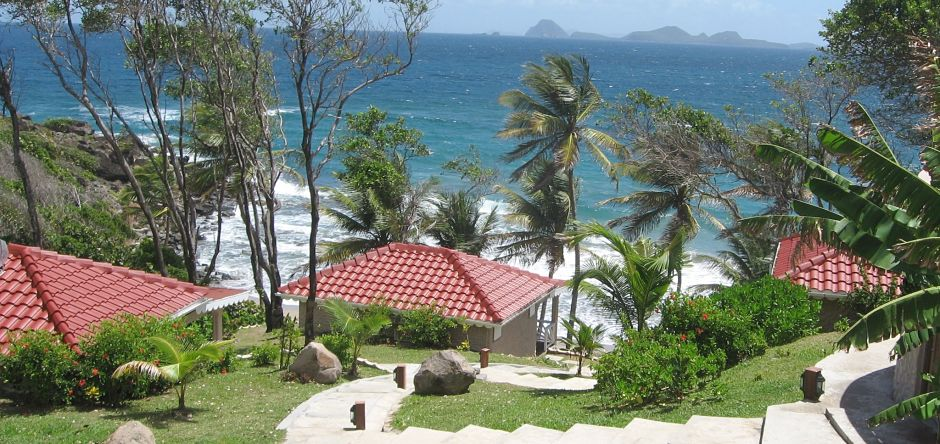 View of the Grenadines from Petite Anse