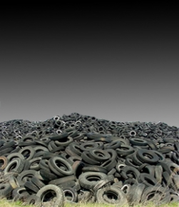 Click On Tires To Learn About Our Recycling Process