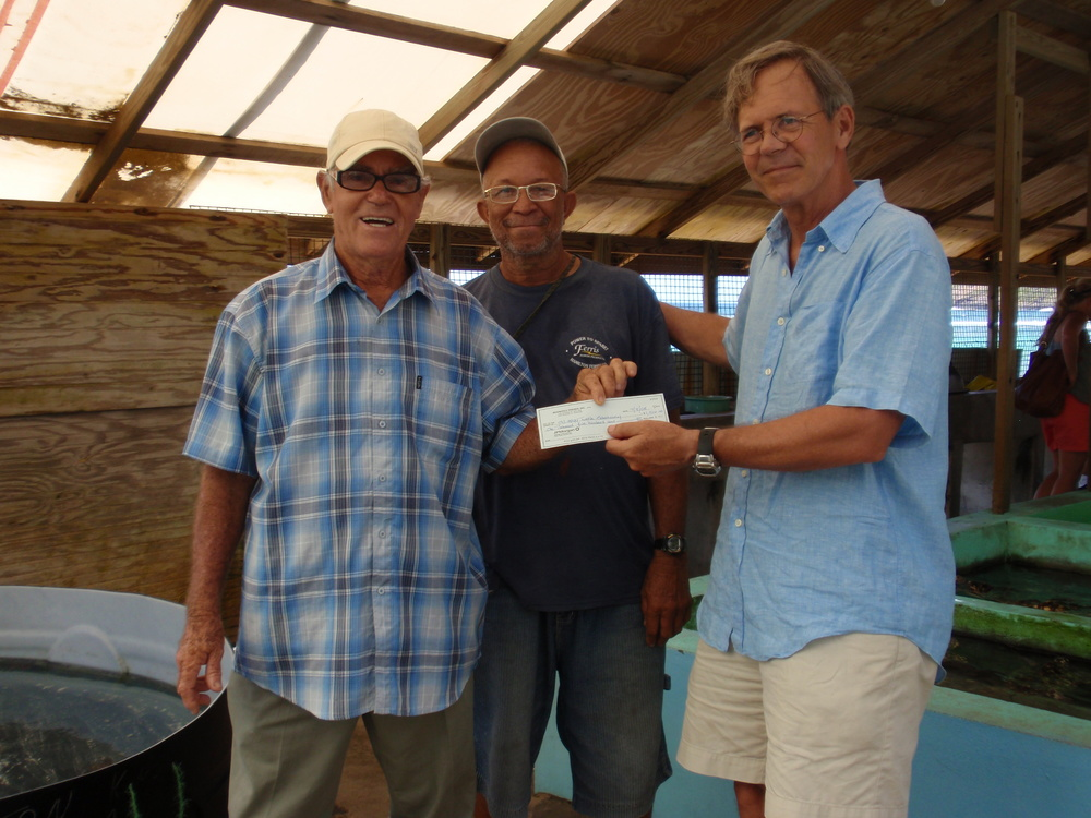 Moonhole Friends, Inc. 's gift to Old Hegg Turtle Sanctuary