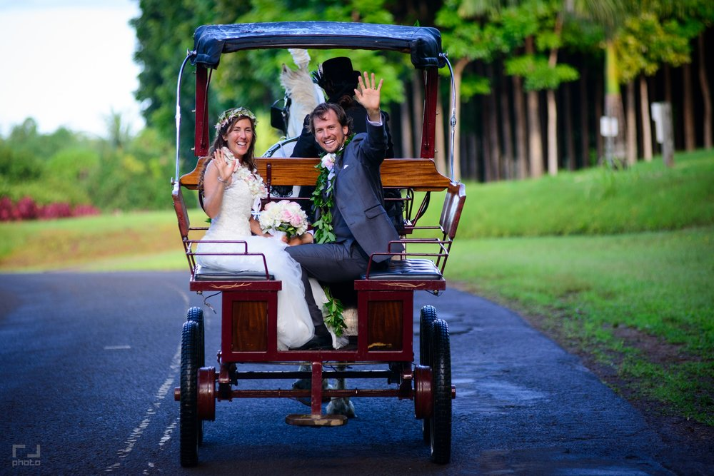 On the road of life as husband and wife -