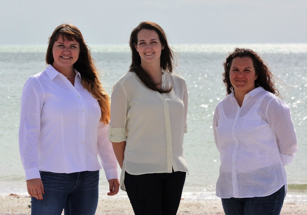 The Florida Art Therapy Services, LLC Team: Monika, Victoria & Reina