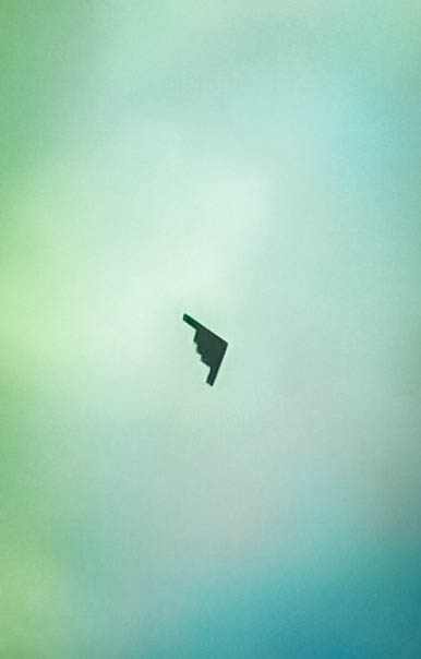 Stealth B2 Bomber Over Missouri