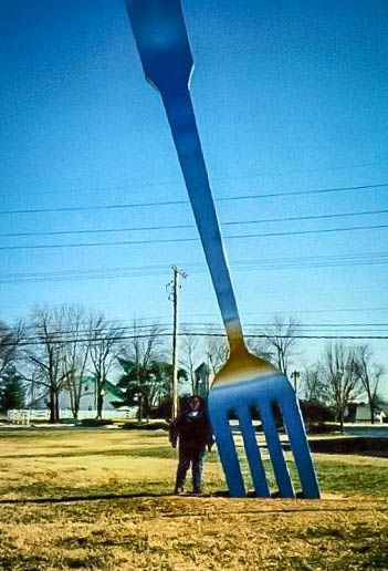 You've Heard Of The Fork In The Road? Well I Found It In Springfield, MO