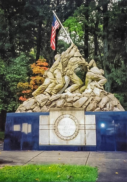 Iwo Jima at Quantico