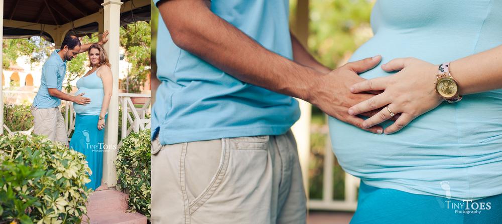 Tiny Toes Photography | Nassau, Bahamas Maternity Photographer