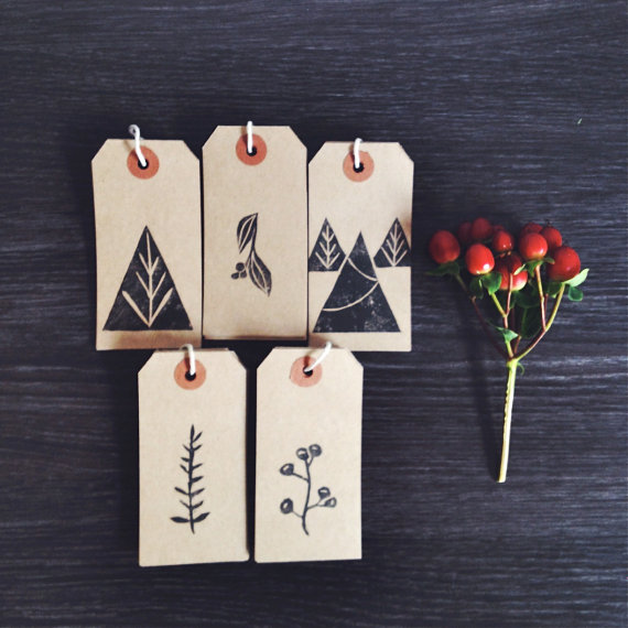 Beautiful hand printed goods, from notecards to scarves by mi+ed design.