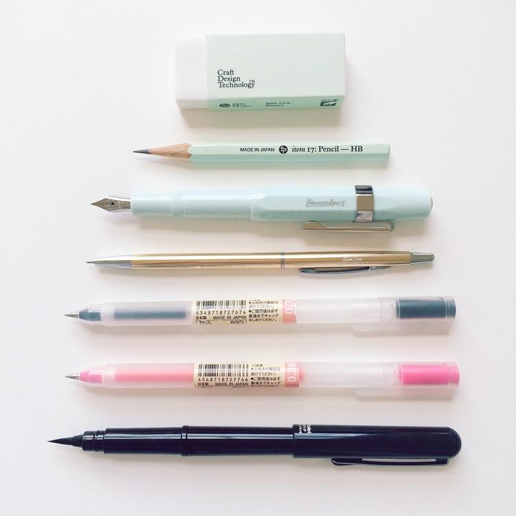 Writing Tools Andsmile Studio Illustration