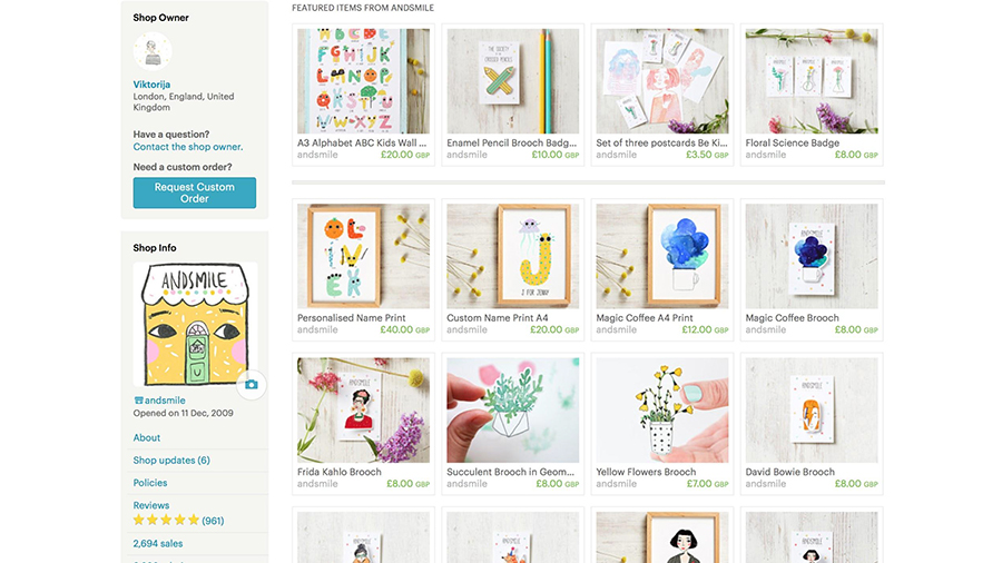 Welcome to my Etsy shop! :)