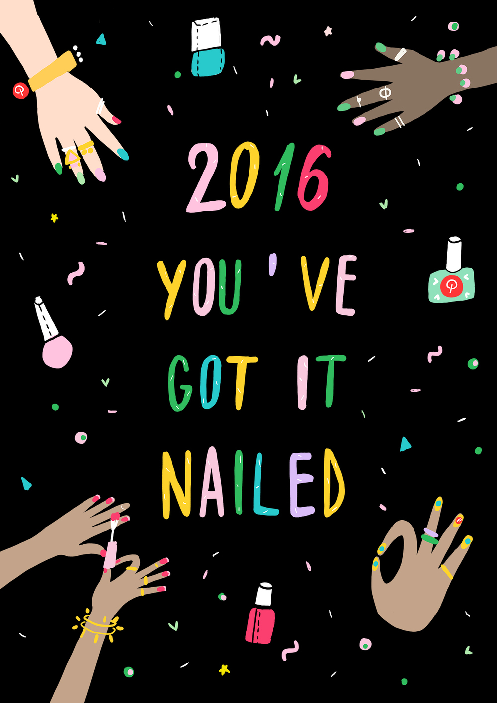 you've got it nailed Birchbox x Pinterest by andsmile