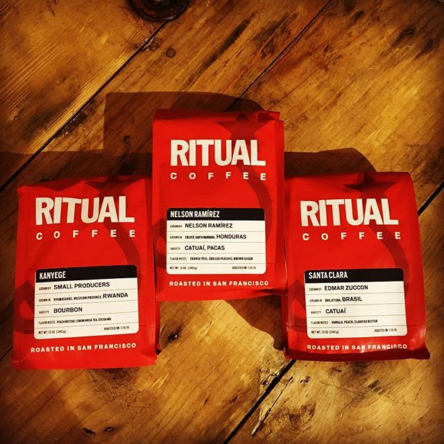 Fresh in from #SF we've got three amazing coffees from @ritualcoffee Santa Clara Brasil, Kanyege Rwanda and Nelson Ramírez Honduras. Come in for a bag or pour-over at the @chromesea on First and Seneca. We'll be serving Ritual on the Mog all weekend too! Come see us at Stinky Spoke on Saturday or at the Pacific Market Sunday and Monday in #Georgetown