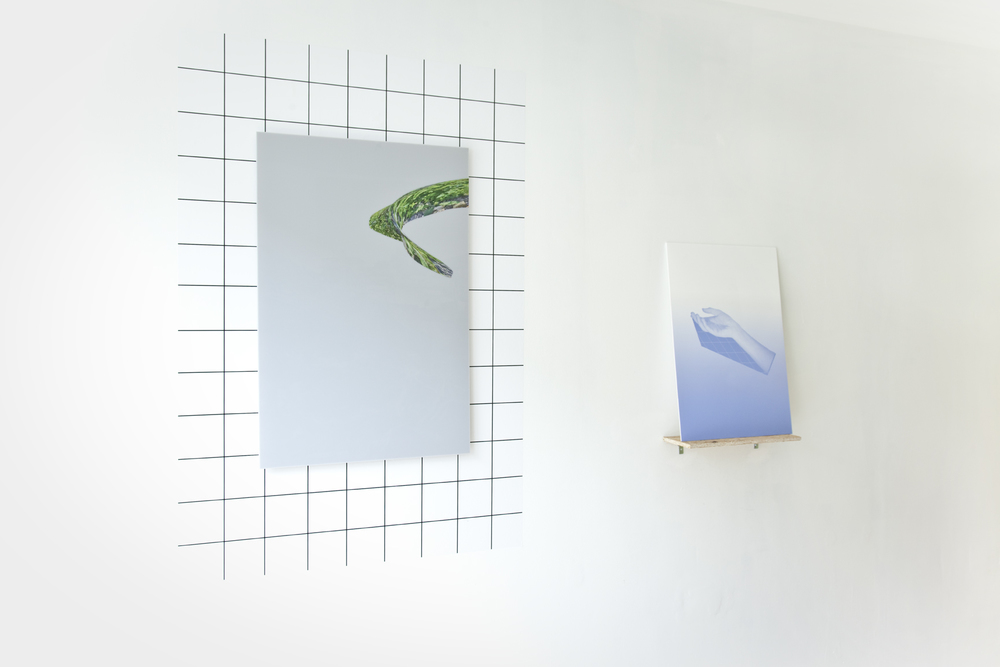 An Intimate Place | Inkjet print, acrylic | Installation view