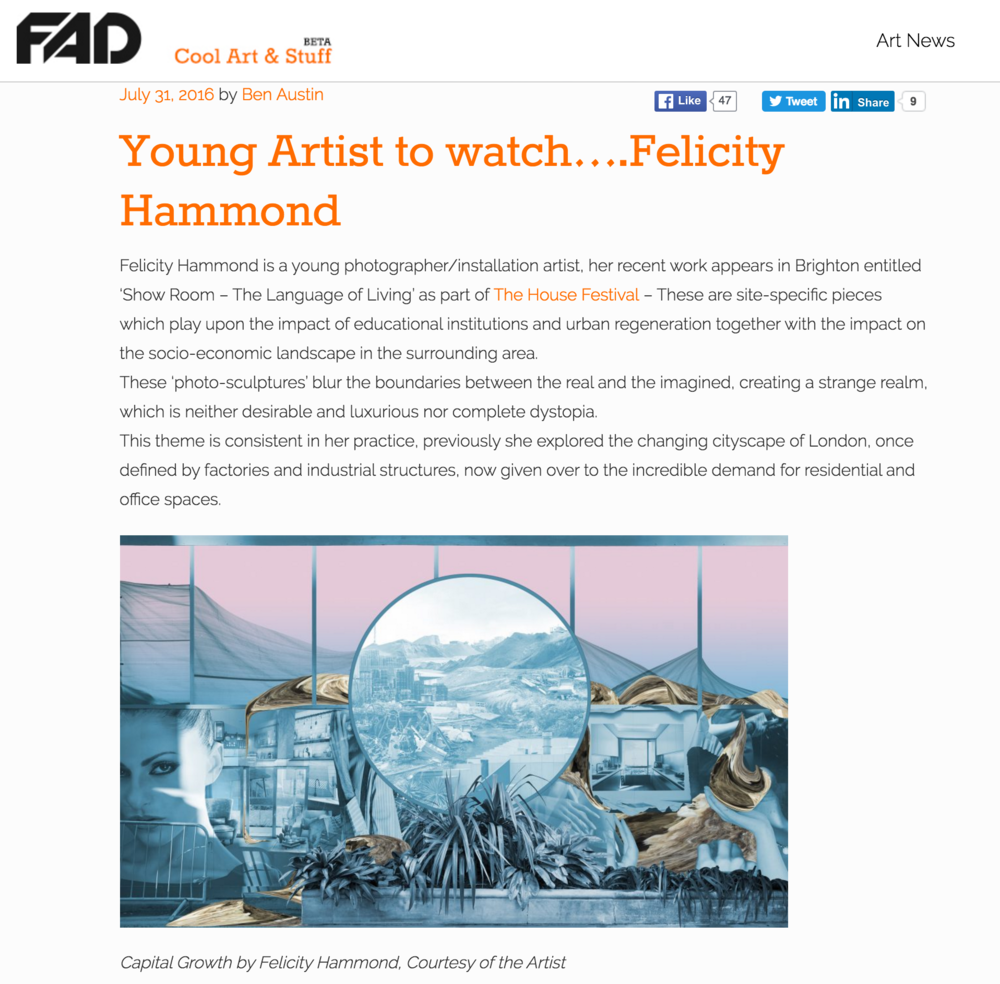 Source http://fadmagazine.com/2016/07/31/young-artist-watch-felicity-hammond/?utm_content=bufferbd735