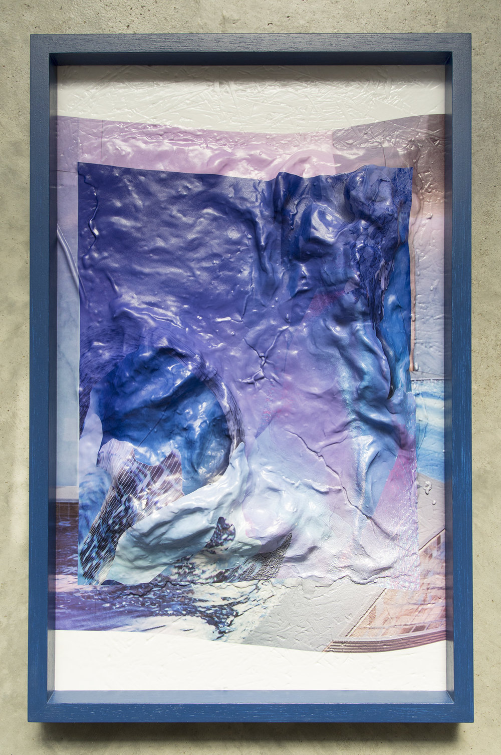 Surfacing 01   2017  Inkjet print on vacuum formed acrylic