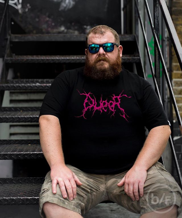 QUEER 🖤⚡️💖🌈🤘🏻Unisex shirt M-5XL 🔝Link in bio #bearflavoured . . . . . . . . . . . . . #gaybear #gaybeard #gay #bearweek365 #bearwwek #daddybear #bearcub #beardedgay #tshirtdesign #graphictees #london #gaylondon #nyc #gaynyc #resist #plussizefashion #plussizemodel #malebeauty #plussizemalemodel #fashion #menswear #666 #sexsexsex #queer #genderqueer #genderfluid #blackmetal #oneofthem