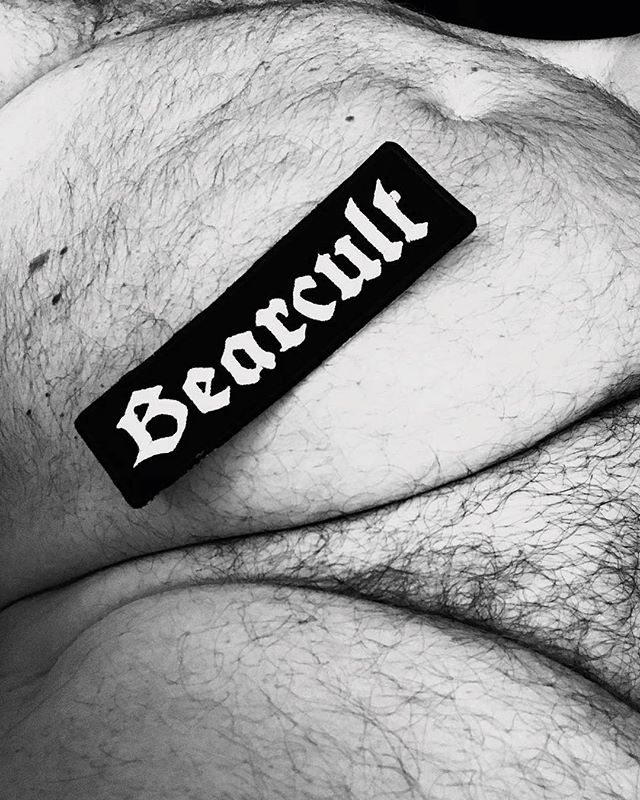 Join the #bearcult 🐻🖤🔮 Nice to see our patches out in the wild! #bearflavoured