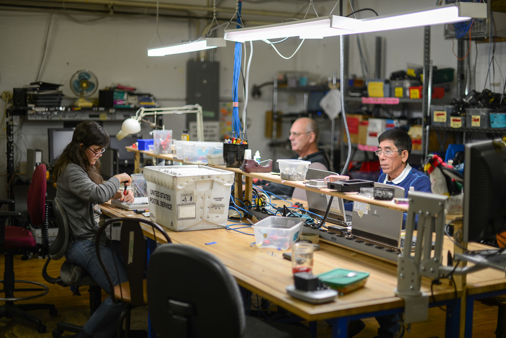 FreeGeek, a Reuse Alliance member in Portland, Oregon, provides on-the-job computer repair training.