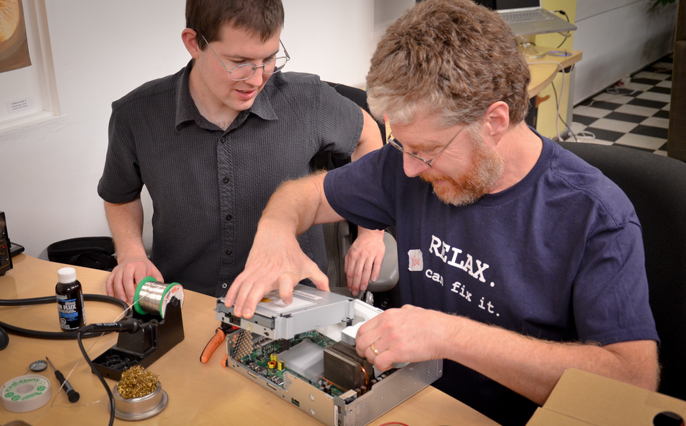 Fixit Clinic, an Alliance member, hosts popular repair meetups to tach people how to repair their own electronics.