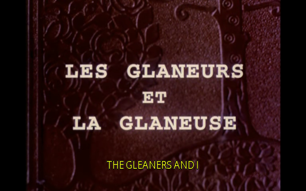 A 2000 French documentary film by Agnès Varda that features various kinds of gleaning . The film tracks a series of gleaners as they hunt for food, knicknacks, discarded items, and personal connection.
