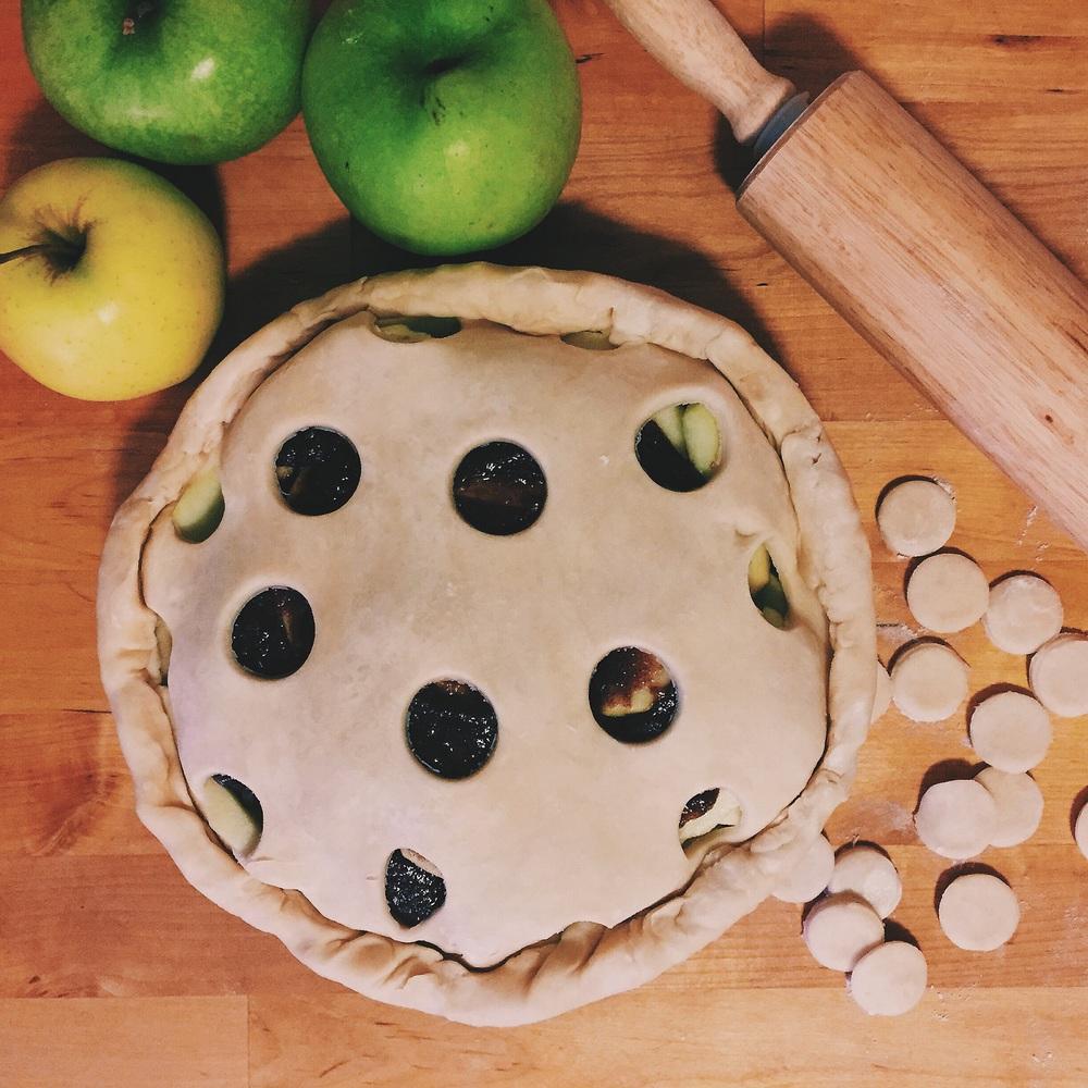 Polka Dot Apple Pie