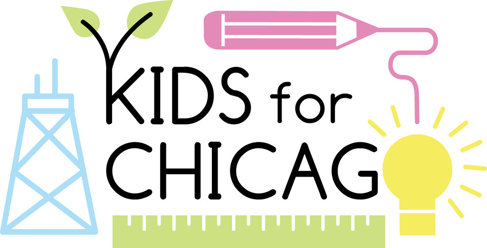 Kids for Chicago Logo Design   A campaign that advocates for high-quality school options for all students in   Chicago