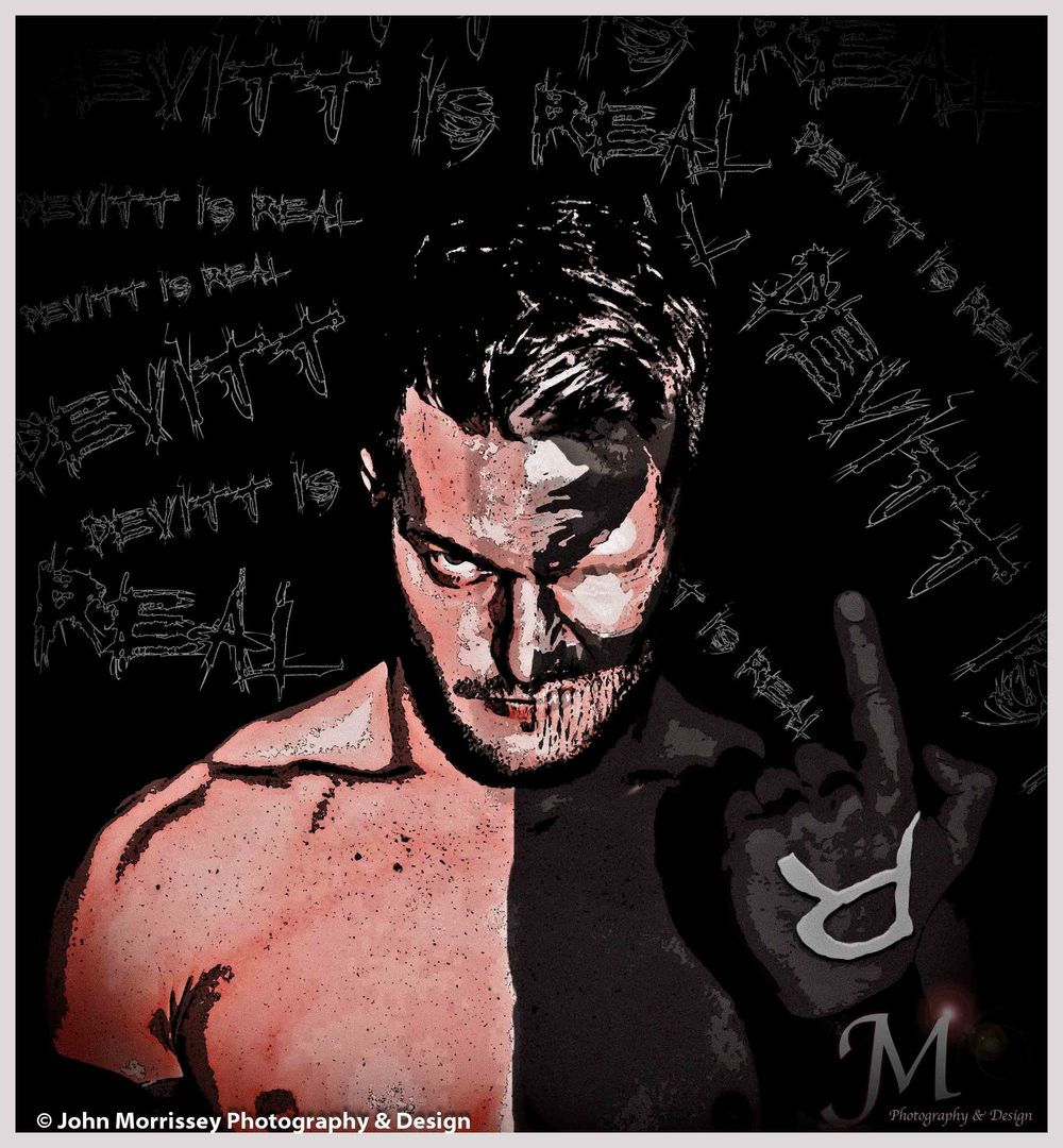 """Devitt is Real"". Prince Devitt inspired piece."