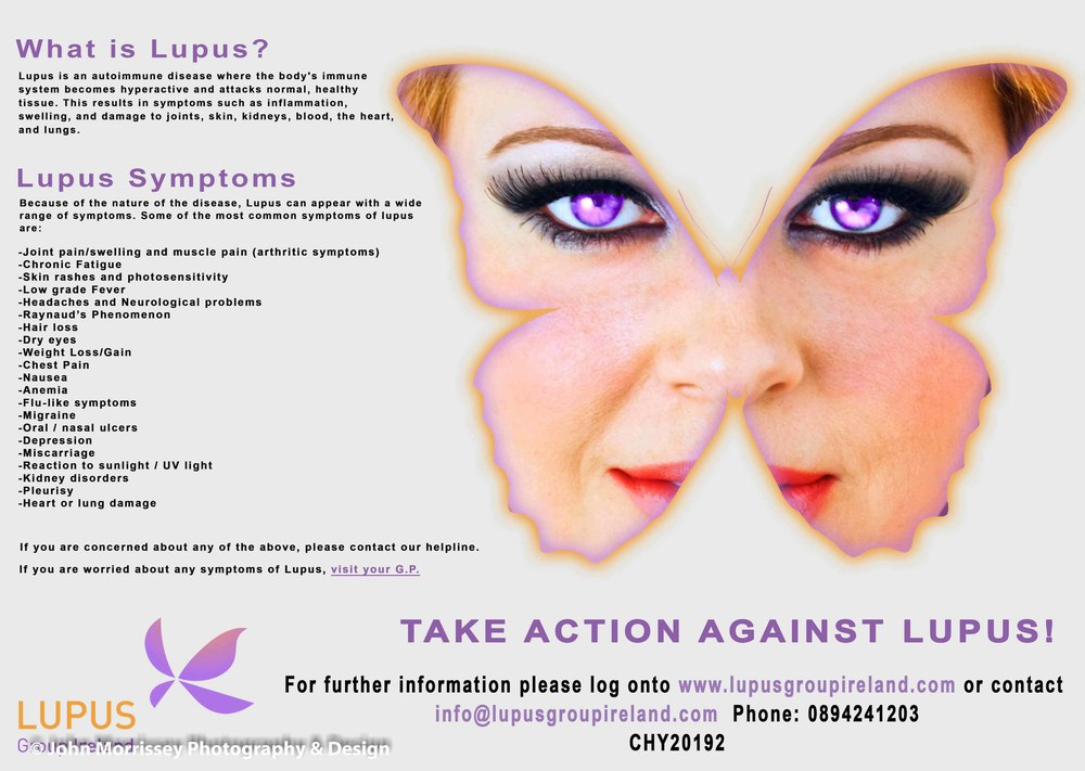 Lupus Group Ireland Poster.