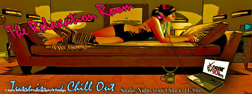 Facebook cover photo designed for 'The Relaxation Room' radio show on Dublin's Near Fm.