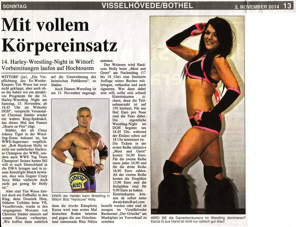 My photography in German Newspaper 2-11-14.