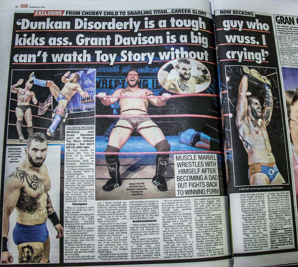 My photography in The Sunday World 26-10-14
