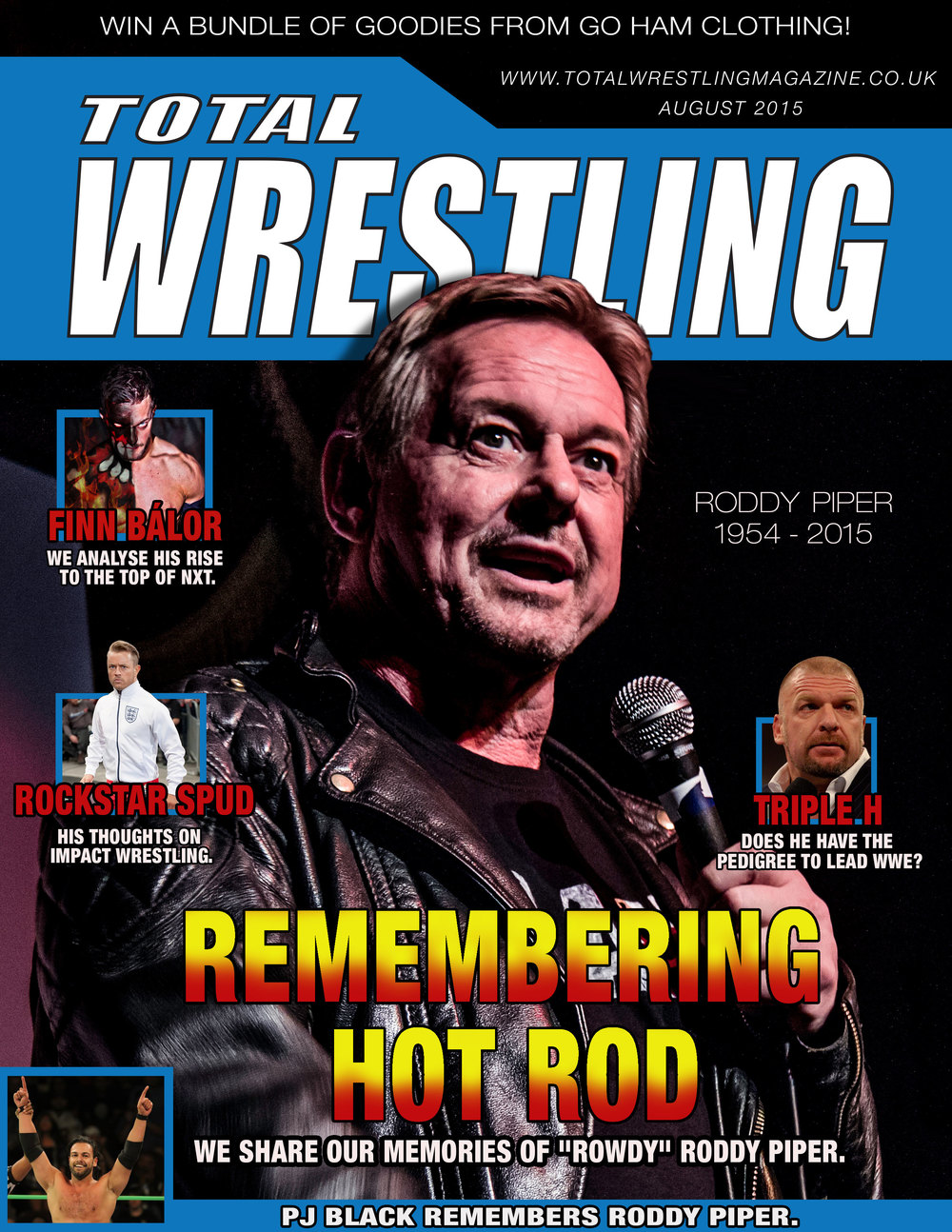 Total Wrestling August 2015 Cover