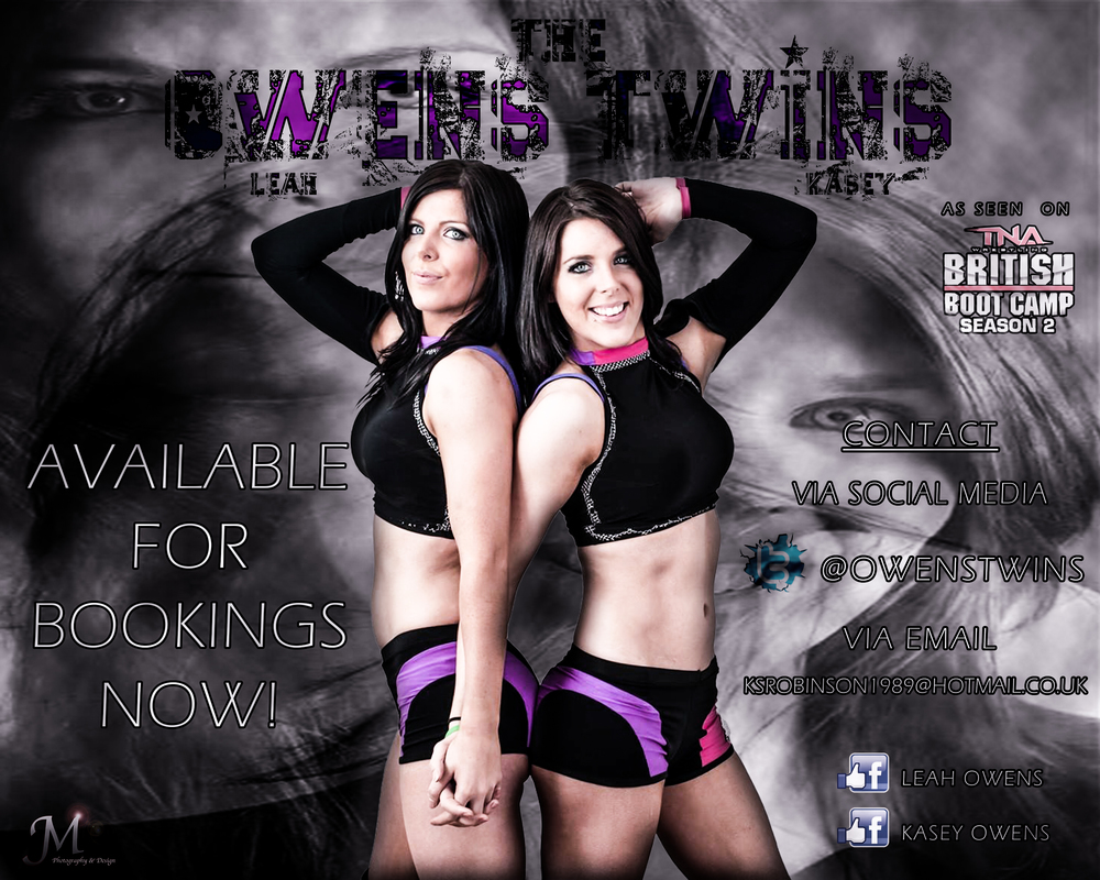 Owens Twins Booking Graphic.