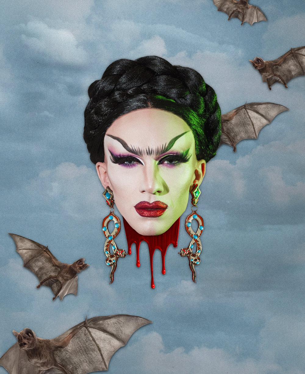 Sasha Velour for   Wussy Mag Volume 5   ,  2018.