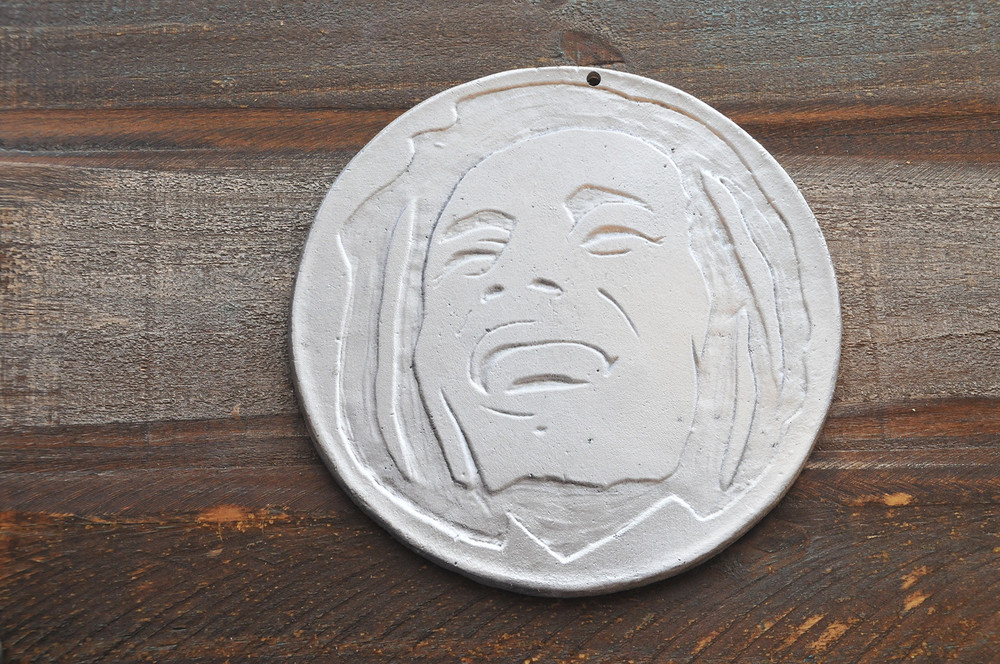 The Bob Marley Plate. Image by Alan Toth