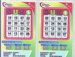 Two example Buko cards.