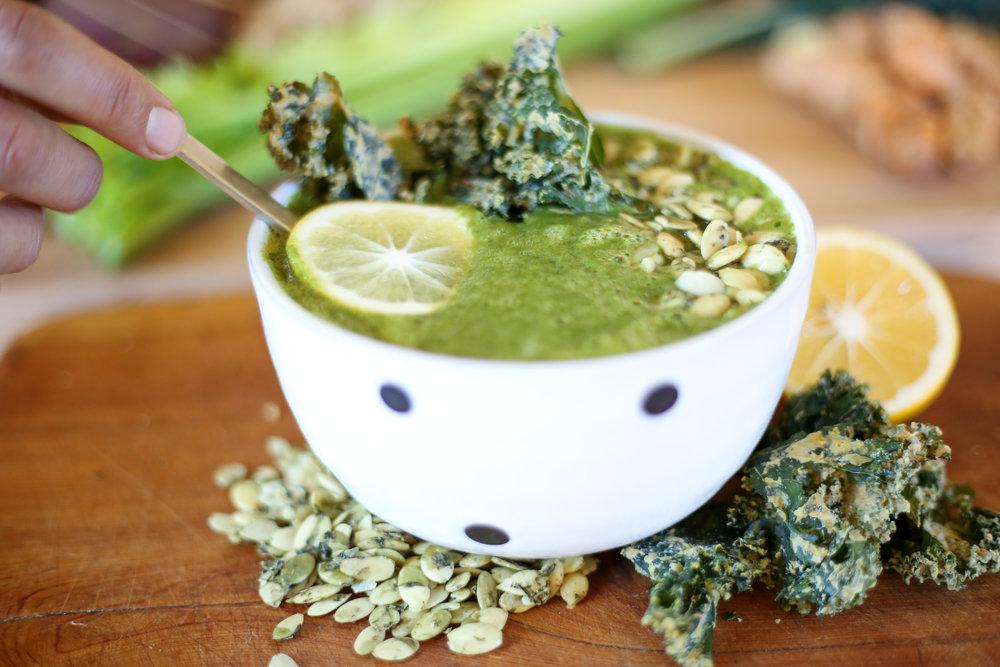 Healing Greens Soup